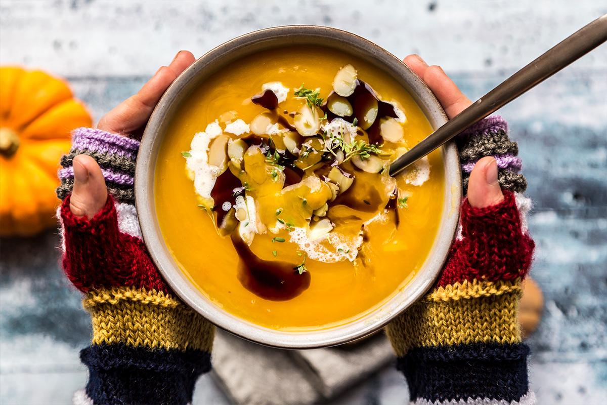 Soupe hivernale, soupe aux légumes