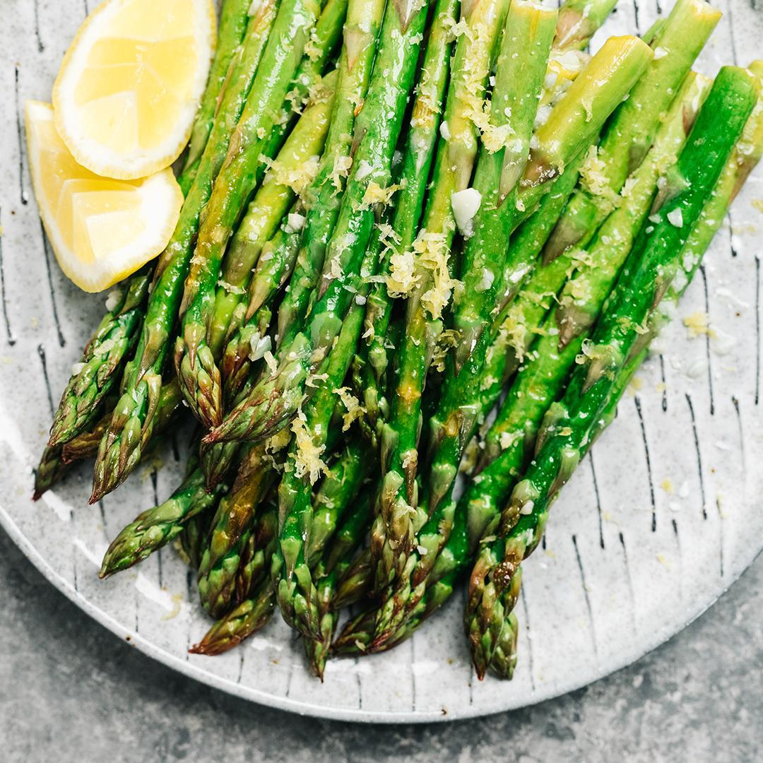 recette, Carpaccio d'asperges vertes, asperges