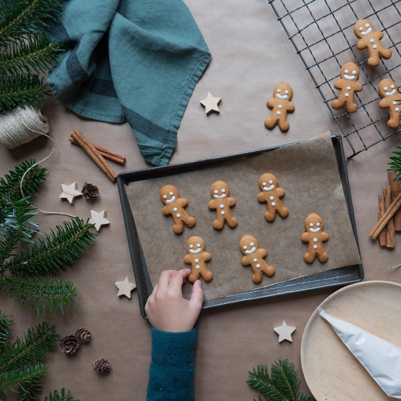 petits sablés, gâteaux de Noël, patisserie