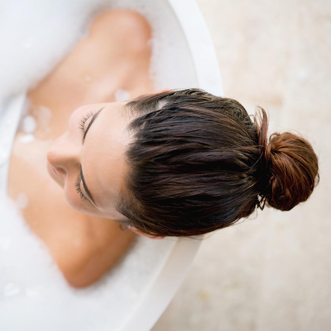 Un bain à l avoine pour les peaux sèches