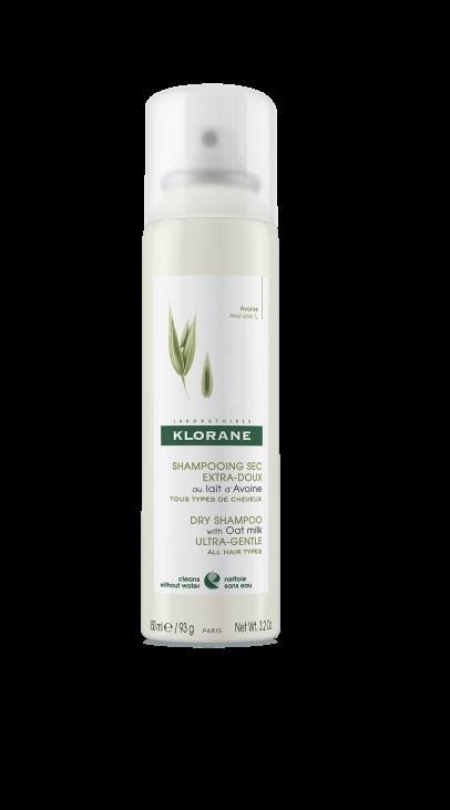 shampoo en seco con leche de avena