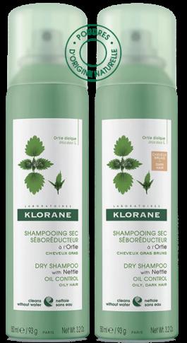 Klorane - Shampoo secco all'Ortica