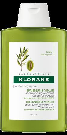 shampooing a l'extrait essentiel d'olivier