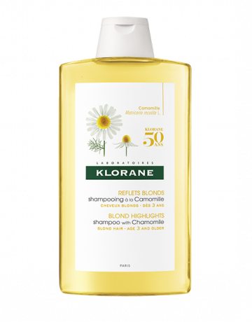 Klorane Camomile Shampoo 400ml Blonde Hair Whole Family Natural