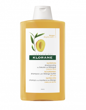 Klorane Mango Shampoo 400ml Dry Hair Natural