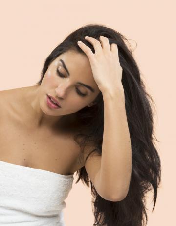 Dry shampoo routine 2